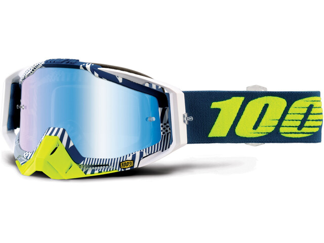 100% Racecraft Anti Fog Mirror Goggles eclipse